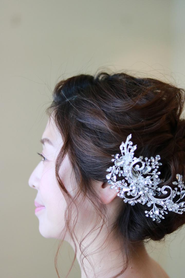 ブライダルヘアアクセサリー 髪飾り