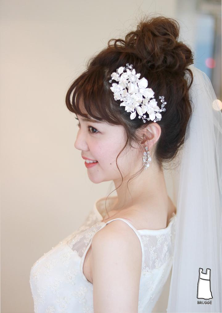 ブライダルヘアアクセサリー 花嫁