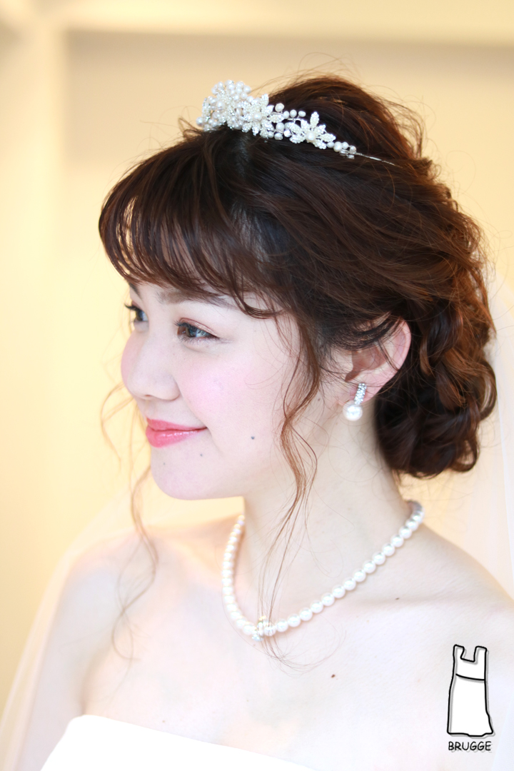 ブライダルティアラ 花嫁